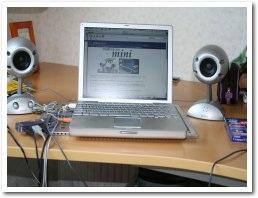 シルバーのボディがPoworBookとマッチ